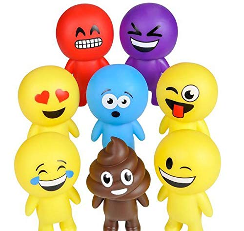 Find Discount DollarItemDirect 6 inches Emoticon Buddy Assortment, Case of 72