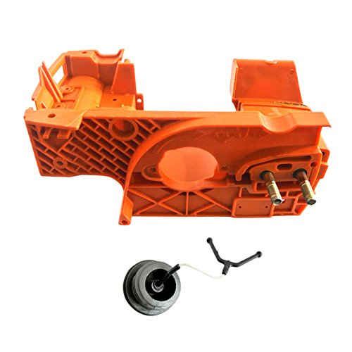 JRL Crankcase Motor Behuizing Brandstof Cap Fit Voor Kettingzaag HUSQVARNA 137 142