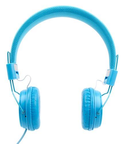 DURAGADGET Auriculares De Diadema Color Azul para Piano Digital/Teclado Gear4music Piano Digital DP-7 / DP-6 / SDP-2 / SDP-3 / JDP-1 / DP-20 / DP-10X Combinar con Su Dispositivo!