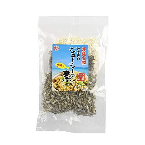 ざまみのじゅーしーの素 105g×4P 座間味こんぶ 子魚入 沖縄風炊き込みご飯