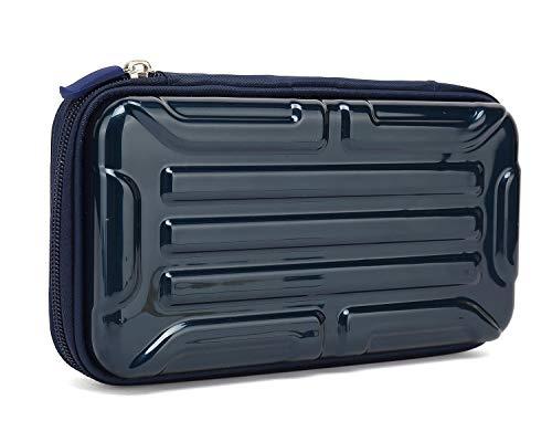 KAYOND Hartschalen-Etui für Füllfederhalter, Apple Bleistift, Kugelschreiber, Stylus Touch Pen (blau, groß)