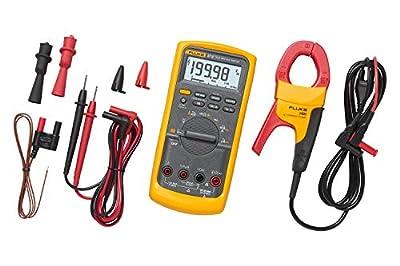 Fluke 87V/IMSK Industrial Digital Multimeter with Fluke i400 Clamp Meter Combo Kit