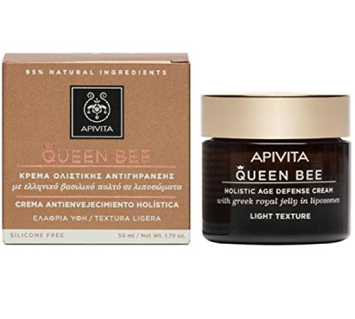 Apivita Light texture cream, for normal-combination skin