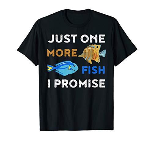 Lustiges Aquarium Shirt Nur noch ein Fisch TShirt