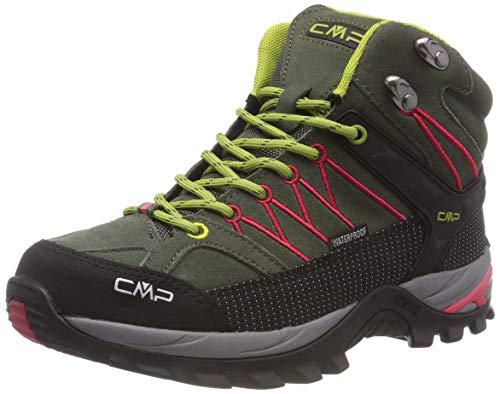 CMP Damen Rigel Mid Wmn Shoe Wp Trekking- & Wanderstiefel, Grün (Kaky-Corallo 65bn), 38 EU