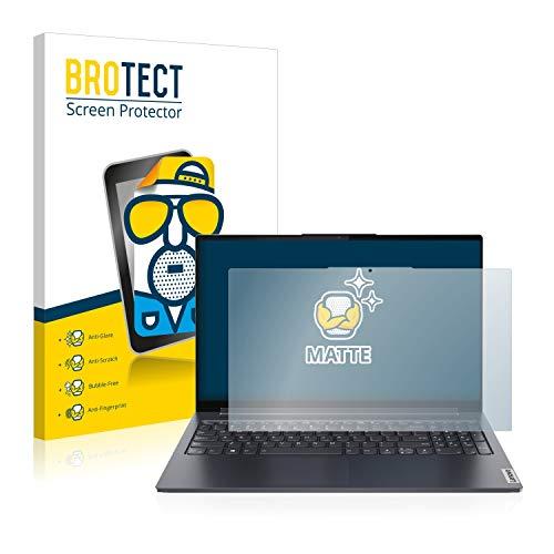 BROTECT Entspiegelungs-Schutzfolie kompatibel mit Lenovo Yoga 7 14ITL5 Bildschirmschutz-Folie Matt, Anti-Reflex, Anti-Fingerprint