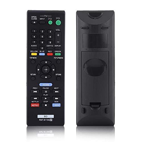 Blu-ray-Player Fernbedienung RMT-B119A für Sony, Universal-Fernbedienung Ersatz für Sony RMT-B119A Blue Ray Player