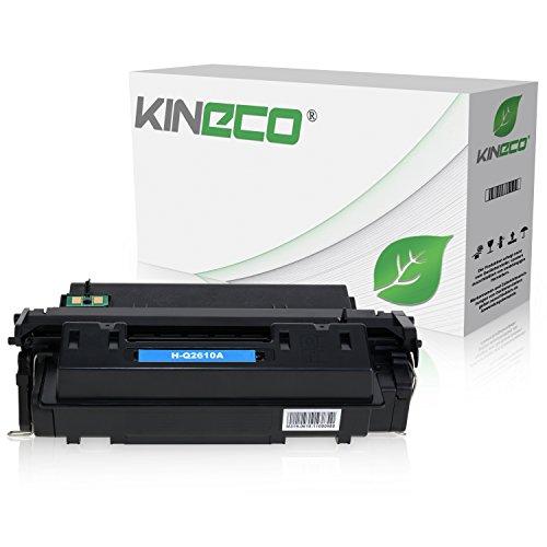 Kineco Toner kompatibel zu HP Q2610A Laserjet 2300DTN, 2300L, 2300N, 2300 Series - Schwarz 6.000 Seiten
