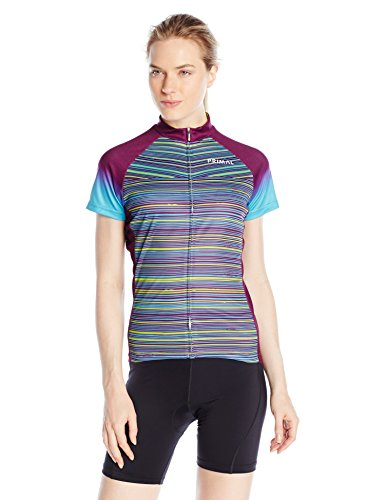 Primal Damen Trikot Kismet Sport Cut Jersey, Violett, 2XL