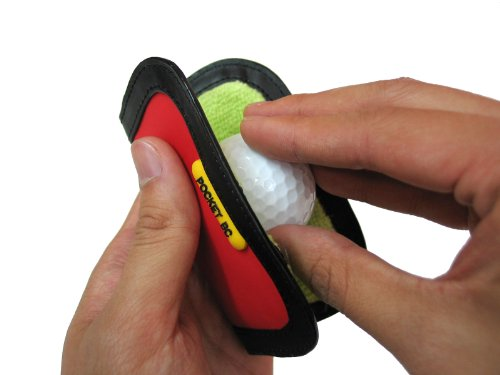 Pocket BC Ball Cleaner (Black)