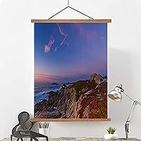 壁アート印刷絵画吊り下げラック風景油絵、装飾的なキャンバスギャラリーラッピングモダンな花芸術のリビングルームの寝室装飾 B- 60*90cm/24*36in
