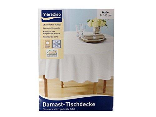 Meradiso Tischdecke Weiß