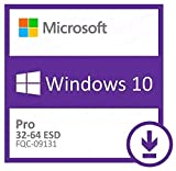 Windows 10 Professional Retail 1 PC ( ESD ) Entrega electrónica de software Descarga + instrucciones de iTeczon, Factura y garantía en España