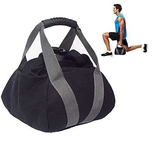 BHB-AY Levantamiento de Pesas Saco de Arena Kettlebells de Arena Gimnasio en casa Entrenamiento, músculos Fuerza Quemaduras de Grasa Saco de Arena con Pesas Rusas