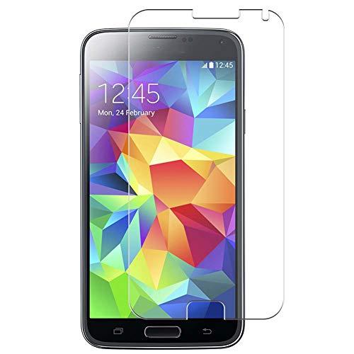 Vaxson 4 Unidades Protector de Pantalla Anti Luz Azul, compatible con Samsung Galaxy S5 Prime [No Vidrio Templado] TPU Película Protectora