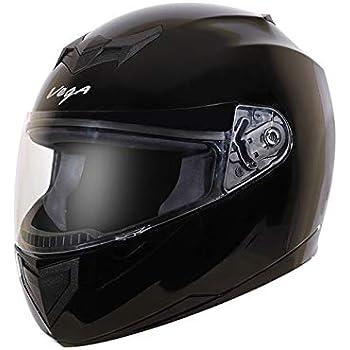 Vega Edge Full Face Helmet (Black, M)