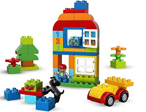 LEGO DUPLO - My First Caja de Diversión, Juguete de Preescolar de Construcción para Niños y Niñas de 1 Año y Medio a 5 Años Divertido y Educativo (10572) , color/modelo surtido