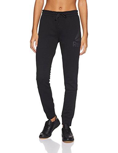 Reebok QC Graphic Pant Hose, Damen L Black (Schwarz)