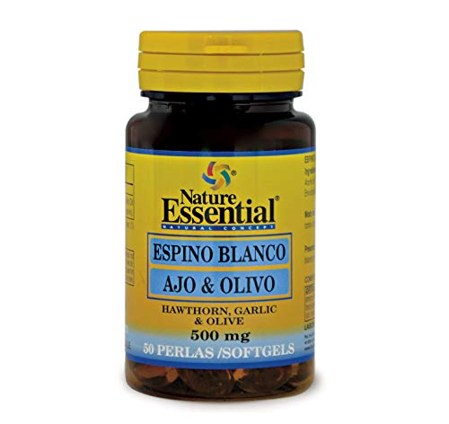 Nature Essential Espino Blanco 500 Mg - 60 Comprimidos, Pack