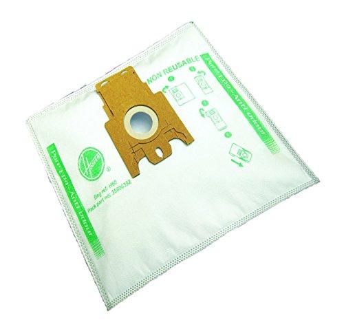 4Staubsaugerbeutel Trichterablauf H60Staubsauger Hoover Sensory