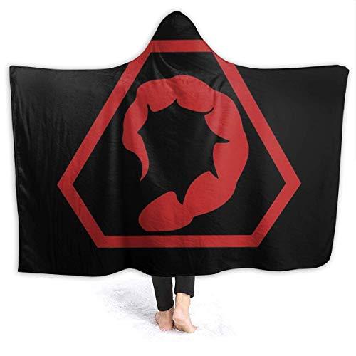 maichengxuan Manta con Capucha 3D Brotherhood of Nod Super Soft Sherpa Fleece Blanket 50'x40'