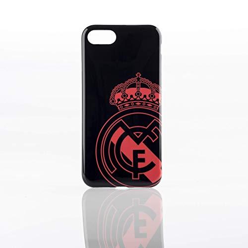 Real Madrid RMCAR086 - Carcasa para Apple iPhone 8/7, Color Negro