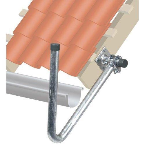 Fuba DUH 500 Dachüberstand-Halterung zur Montage von Offset-Parabolantennen an Dach-Überständen