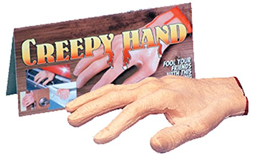Loftus International Creepy Severed Hand Halloween Decoration Prop Pink Red Novelty Item