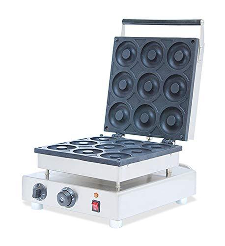 Hanchen Commercial/Home 9pcs NP-7 Waffle Maker Donut Machine Doughnut Baker Iron Fryer 110v/220v