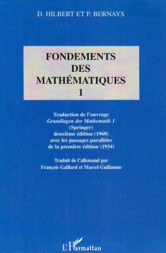 Fondements (t1) des mathematiques