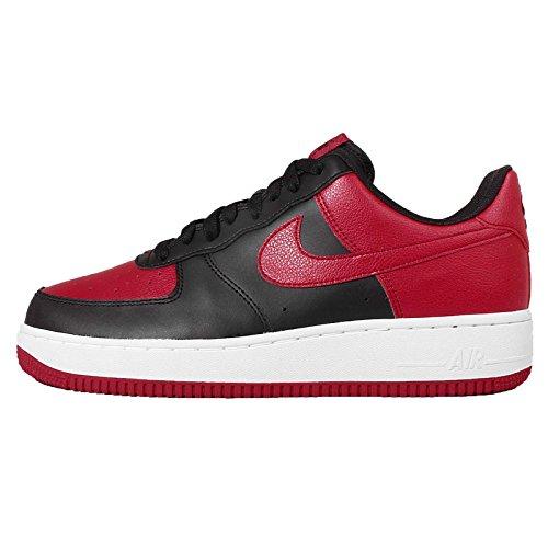Schuhe Nike Air Force 1 (820266-009), Rot-Schwarz-Weiß, 41 EU