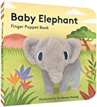 Baby Elephant: Finger Puppet Book: (Finger Puppet Book for Toddlers and Babies, Baby Books for First Year, Animal Finger Puppets)