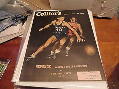 1/11 1947 Collier's magazine Ralph Beard Kentucky basketball bxlg1