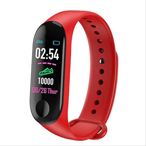 POKQHG Nieuwste Sport Smart Horloge Vrouwen Mannen Android Horloge Waterdicht Slimme Horloge Met Hartslagmeter Bloeddruk Smartwatch Voor Ios Telefoon, Rood