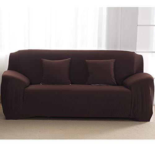 WXQY Fundas Antideslizantes elásticas de Color sólido Funda de sofá Antideslizante Funda de sofá para Mascotas Esquina en Forma de L Funda de sofá Antideslizante A9 1 Plaza