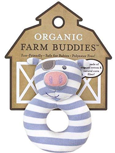 Organic Farm Amis Pirate Pig Rattle