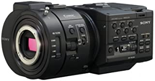 Sony NEX-FS700 R 4K Sensor High Speed NXCAM Super35 Camcorder Body, 8.3MP HD, 3.5
