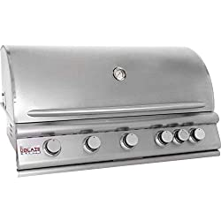 5-Burner Built-In Gas Grill