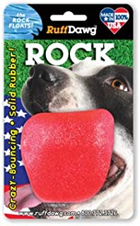 Ruff Dawg The Rock Rubber Dog Toy