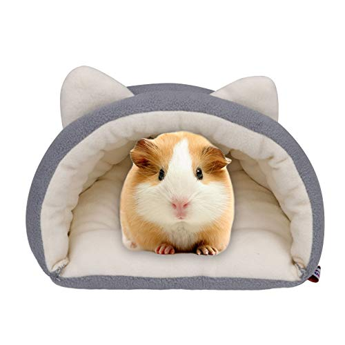 Meerschweinchen- Höhlenbett, Hamsternest, Kleintierbett/ Kleintierhaus für kleine Haustiere wie Meerschweinchen, Hamster, Igel