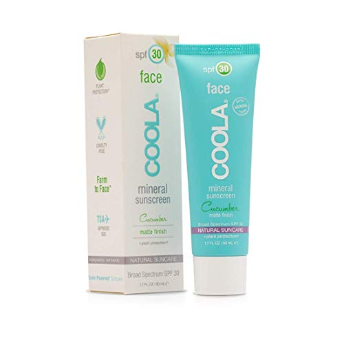 Coola Face Matte Finish SPF 30 Mineral Sun Care 50ml