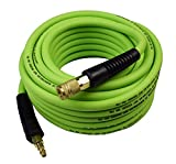 YOTOO Hybrid Air Hose 3/8-Inch by 50-Feet 300 PSI Heavy Duty, Lightweight, Kink Resistant, All-Weather Flexibility with...
