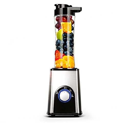 DULPLAY Jugo mini taza de,Exprimidor,Acero inoxidable,Blender portable,Mixer Personal portable,Completamente automático,Multifunción, Licuadora smoothie Exprimidor-A