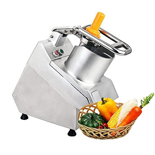 MNSSRN Cortador Vegetal automático Multifuncional Comercial, rebanador de Cebolla de Papa, Fruta eléctrica y Cortador de Verduras, máquina de Rejilla de Queso