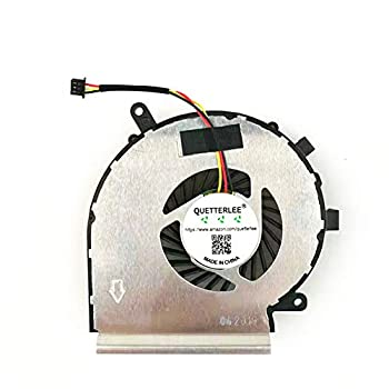 QUETTERLEE Replacement New CPU Cooling Fan for MSI 3-PIN GE62 GV62 GE72 PE60 PE70 GL62 GL72 6QC 2QD 2QE 6QG MS-16J1 16J2 16J5 16J8 16JB 16J9 1792 Series PAAD06015SL N303 N318 DFS470805WL0T FH18 Fan