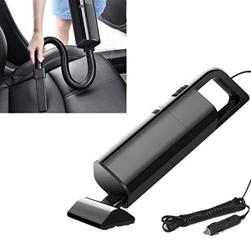 FENSHIX Portátil de Coche con Cable portátil 120W Potente aspiradora Valioso (Color : Black)