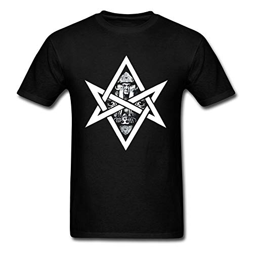 Trapped by Magic T-Shirt Satanic Men T Shirt Geometric Style All Seeing Eye Designer Clothing Oversized Adult Unique Tshirt Swag Black 3XL