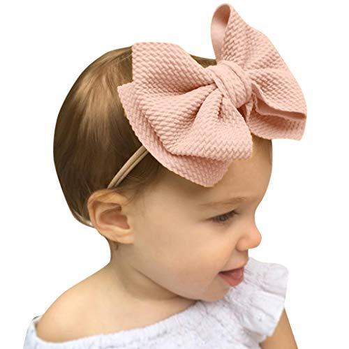 Cuteelf Baby Stirnbänder Haarbänder Headwrap Hasen Ohren und Me Kleinkinder 6 Paar Baby Unisex Haar Multi-Color-Druck Haarband elastische Schleife Design Haarband