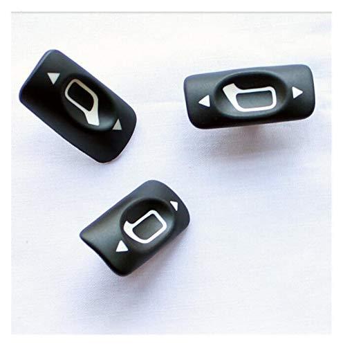 Agnus 50 unids/un paquete espejo regulador botón ajuste para Peugeot 307 vidrio elevador interruptor ajuste para Citroen C-triomphe C-quatre envío libre