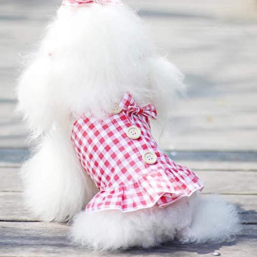 Ropa de primavera y verano para perros pequeños, medianos, chihuahua, cómodo y transpirable, estilo chino, traje de tanga, ropa para mascotas, regalo de cumpleaños para mascotas
